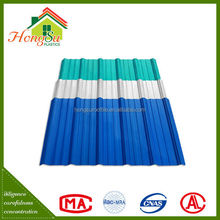 China supplier Light weight 2 layer wavy roof tile
