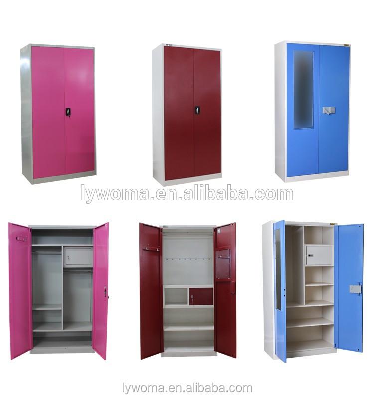 New Style 3 Door Metal Almirah Cabinet/modern Steel