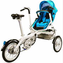 2015 new foldable mother baby stroller bike