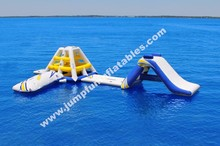 Aqua Inflatables for sale ,Crazy inflated water park for adults and kids