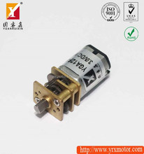 3v dc geared motor with 9mm length opened gearbox compact gear