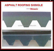 Hotsale mosaic asphalt roofing shingle/building material