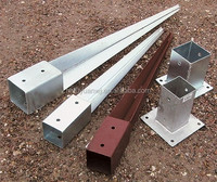 Hot dip galvanized metal spike shoes