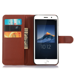 PU Leather Wallet Case Cover For Lenovo ZUK-Z1