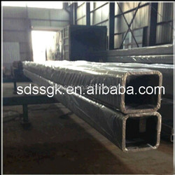 alibaba China Wholesale Black Carbon Erw Square /hollow Erw Rectangular Tube/pipe from manufacturing company Shandong