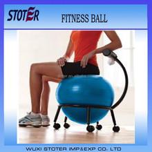 wholesale ecofriendly PVC anti burst fitness sitting ball