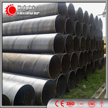 SAWH Welded Pipe/SSAW Steel Pipe/ schedule 40 steel pipe roughness