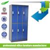 Cheap metal school lockers gym lockers light gray 4-door clothes storage cabinet