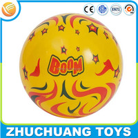 cheap colorful printed pvc inflatable skip ball toy balls