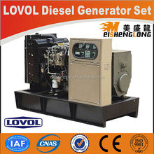 Hot sale! Diesel engine generator set genset CE ISO approved factory direct supply portable generator fuel tank