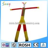 Inflatable clown air dancer,advertising inflatables air dancers,small inflatable air dancer