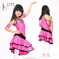 L00787 latin dance costumes children girl sexy latin dance dress