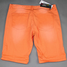 Straight High Waisted Shorts With Belt