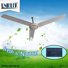 AC DC double duty use 48 inch OEM house use 12v dc ceiling fan solar fan cooling