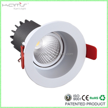 deep recessed anti-glare 80mm downlight led