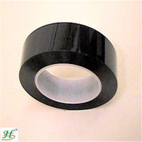 ISO 9001:2008 Certified Acrylic Adhesive Coated Light Shielding Heat Resistant Black Double Sided Polyester Adhesive Tape