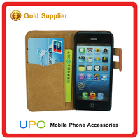 [UPO] Wholsale High Quality Mobile Case for iPhone 5s Leather Case, for Apple Iphone 5 Phone Case