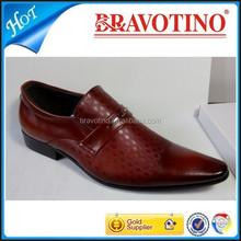 2015 latest Italy style fashion dress genuine leather man shoe