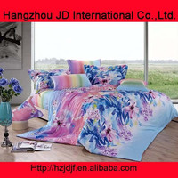 Colourful printing cotton luxury bed spreads