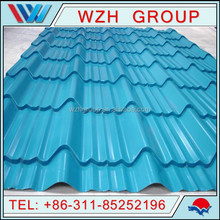 750 Corrugated Metal Roofing Sheet, Prepainted Galvanized Steel Roof Sheet / PPGI Roof