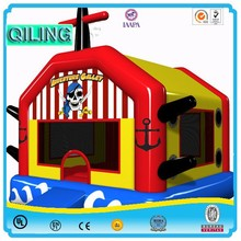 C049 with side and bouncer Inflatable bouncer slide combo