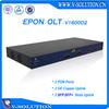 Professional FTTH/FTTB Fiber Optic GEPON 2*GE or 2*10GE Uplink 3 Layer Route 2 PON Ports 1U 19inch Epon OLT