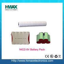 best shenzhen nimh 6v led rechargeable emergency battery pack