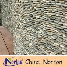 grey pebble stone/cobble stone wall decoration NTCS-P044S