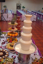 Best quality commercial chocolate fountain sale