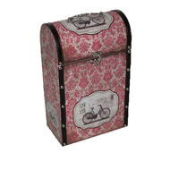 Customize handmade canvas Wooden Wine Packaging Gift Box/Wine Bottle Carrier Case