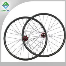 Bicycle Aero Wheels mtb carbon wheelset 20mm wide high quality wheel rigid aero spokes mtb