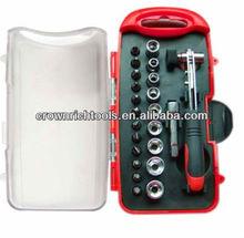 23pcs High Quality Wholesale ratcheting socket set