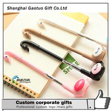 Design Cheap Fancy Gel Pen For Promotion