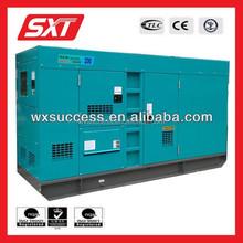 100KVA water cooled diesel generator set low fuel consumption Deutz engine