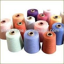 polyester dyed spun yarn