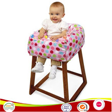 portable travel kids high chair seat cover sack safety seat germ protector shopping cart cushion trolly cover