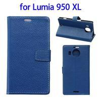 smart phone case leather case for nokia lumia 950 xl