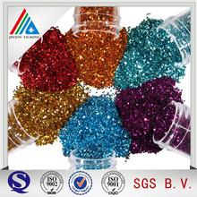 Color Coated Metallized PET Film Powder Glitter