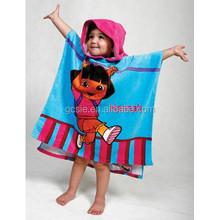 hooded beach towel ice towel kids frozen towel wholesale