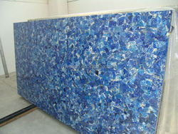 Chinese popular Polished lapiz lazuli paint the walls of granite for decoration