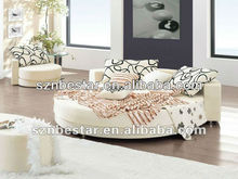 Attractive round bed king size designs