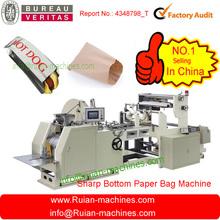 reciclado bolsa de papel que hace la máquina del fabricante