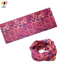 Customized Polyester Multifunctional Seamless Headband Bandana