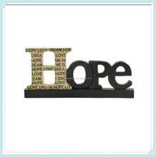 Resin hope decorative alphabet letters