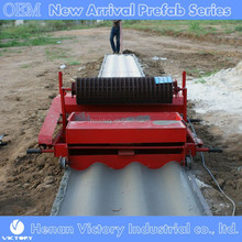 Low cost and high output concrete roof tile forming machine for sale