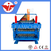 Double layers 900&840 color steel roof tiles roll forming machine aluminum sheets making machine
