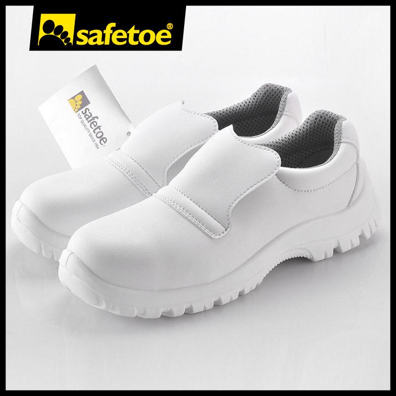 Calzado de seguridad mujer barato for Zapatos de trabajo blancos