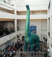 2015 Hot sale giant inflatable dinosaur, inflatable brachiosaurus