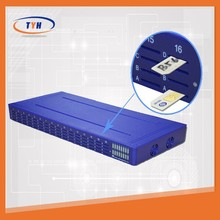 Hot sale goip gsm sms gateway 16 ports 64 sims SK16-64 call terminal