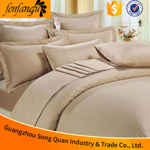 Elegant Design Direct factory price 50% Cotton 50% polyesterbed pure linen bed sheet